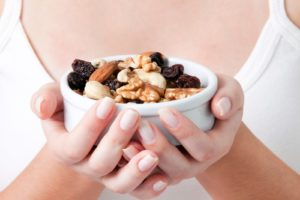 Nuts and dental implants